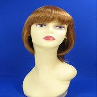 good quality wigs - SK0170 Newlook Hotsale Good Quality Fashion Factory Synthetic Fiber Women Popular Style Color Hair Wig