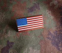 Wholesale The American flag metal badge chapter chapter chapter of American mind identification badge to send box