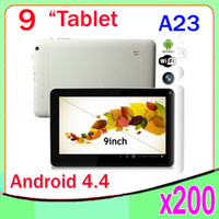 Cheap China Brand Lower Price 9 Inch Allwinner A23 Android Tablet 200pcs ZY-MID-37