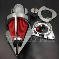 Wholesale For Kawasaki Vulcan Classic CHROME Cone Spike Air Cleaner filter