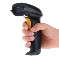 Wholesale YHD Bluetooth USB Wireless Laser Barcode Reader Scanner with Flash Memory support IOS Android Windows