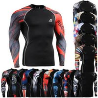 mma shirt - Life On Track Original Compression Shirts Long Sleeve Shirts Multiuse MMA GYM Crossfit Running Tops Shirts