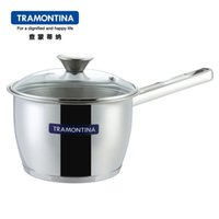 Wholesale Easy home tramontina compound sole stainless steel milk pot soup pot sauceboxes
