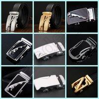 Wholesale 500PCS LJJH1284 Hot Sell Design business casual Alloy automatic buckle belts metal buckle belt man belt buckle in stock