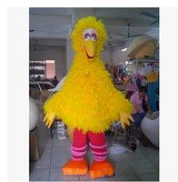 big bird mascot costume - New Yellow Big Bird Costume Mascot Sesame street mascot costume Stage performance clothing