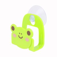 Wholesale Cartoon Dish Cloth Hanging Bar Rack Small Gadget Holder Hanger with Suction Cup Assorted Style