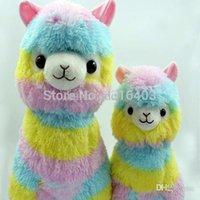 Wholesale 2015 Juguetes cm Rainbow Alpaca Plush Toys Adora Doll Japan Alpaca Alpacasso Peluches Animal Sheep Llama Stuffed Toy