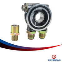 Wholesale PQY STORE OIL COOLER FILTER SANDWICH PLATE THERMOSTAT ADAPTOR
