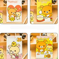 Wholesale sets New Special Offer Greeting Cards Korea Stationery Cartoon Easily Bear Postcard Greeting use set