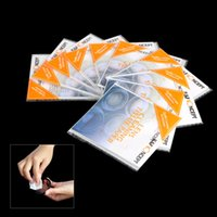 Cheap K & F CONCEPT 10 * 50 Sheets Lens Cleaning Paper Tissue Wipes 9.3 * 8.3cm 50 Sheet Booklet for Camera Lens Filter
