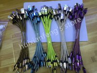 aluminium length - 20cm length New aluminium alloy Micro usb data line Charge Data Cable For Samsung Huawei Nokia HTC Xiaomi V8 Charge Data Wire