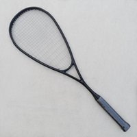 squash racket - 1 piece carbon fiber Squash racket Black GRAPHITE squash racquet g