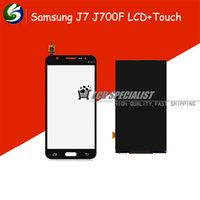 Wholesale New For Samsung Galaxy J7 J700F J700H J700 Full Touch Screen LCD Display Panel Replacement Repair Parts
