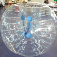 Wholesale TPU M Lawn Inflatable collision Bumper Buffer Impact Zorb Run In Touch Ball Football Soccer