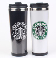 stainless steel travel mug - Starbucks Double Wall Stainless Steel Mug Flexible Cups Coffee Cup Mug Tea Travelling Mugs Tea Cups Wine Cups