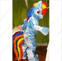 my orders - Pre order Rainbow Dash Mascot Costume Pegasus Pony Adult Costume My Little Pony Friendship is Magic Rainbow Horse Fancy Dress