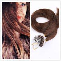 best hair glue - 2 Dark Brown Micro Loop Hair Extensions Micro Ring Hair Extensions use Best Itali keratin glue for women Hair Extensions