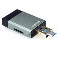 Wholesale Real capacity OTG USB Flash dirves in OTG Pendrive GB GB GB GB U disk for iPhone s galaxy Tablet PC