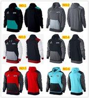 Wholesale New Men s Seahawks Hoodies American fleece Winter keep warm jerseys Mixed order