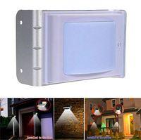 solar indoor light - 100PCS LED landscape lighting nd Generration fresh Solar Human Body Sensor Lamp Outdoor indoor portable with high power