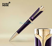 Wholesale PURE PEARL High Quality Stationery Collection Princesse Grace de Monaco Ballpoint Pen