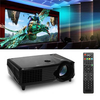 lcd projector hd - US Stock VS New P D LED Projectors HD HDMI AV USB VGA SD Projector Lumens Home Cinema Theater