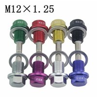 Wholesale Racing M12X1 Magnetic Oil Drain Plug Oil Drain Sump Nut for Infiniti Lexus Nissan Scion and Toyota