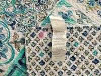 Wholesale Comforter Bed Cover Duvet Bulu Angsa Print Quilted Bedspread Cotton Summer Quilts