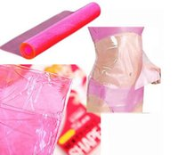 Wholesale 1 PC Women Lady Cellulite Fat Burner Sauna Slimming SHAPE UP Waist Body Plastic Belt Wrap Makeup Beauty Tools