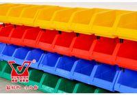 plastic storage - Plastic part box classify storage box bin in ecommerce warehouse garage classify storage box warehouse box case