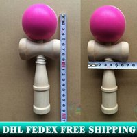 Wholesale 240piece Professional Glossy Kendama Ball Japanese Traditional Game fedexie IE