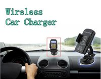 auto note pad - Wireless Car Charger Qi with Auto Mount Pad Transmitter Cell Phone Holder for iPhone Samsung Galaxy HTC Note LG Google Nexus