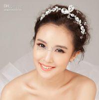 beaded tiara patterns - new model flower butterfly pattern crystal pearl beaded prom accessory wedding crown tiaras