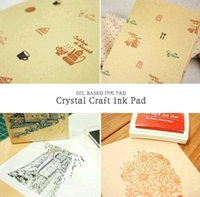 rubber stamps - Diy Stamp Set Ink Pad Nd Rubber Stampcraft Ink Pad Can Use For Facbric Wood Paper