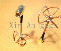 audio connector types - FPV antenna g Blade Clover Leaf Antenna amp Skew Planar W L TYPE connector Audio Video