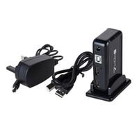 Wholesale 7 Port USB Hi Speed Multi Hub Expansion w Power Adaptor for PC Laptop