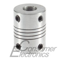 Wholesale 1Pc mm To mm Flexible Coupling OD x25mm x8 mm Motor Jaw Shaft Coupler Newest
