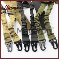 adjustable swivel - magaipu outdoors Tactical Sling Dual Point Swivels Strap Multi Mission Adjustable for Rifle Gun