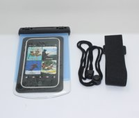Wholesale PVC Waterproof Phone Case Underwater Phone Bag For lenovo s820 For case iphone All mobile Phone Watch ect