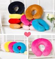 Wholesale the amazing versatile memory foam pillow Neck massage Travel healthy pillows B101