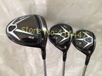 Wholesale NEW D2 D2 golf driver F F fairway wood golf clubs right hand include headcover