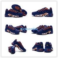 air indigo - Air Plus TN Sneaker Men s Sports Running Shoes Indigo Orange
