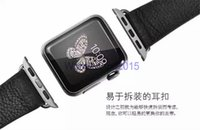 Wholesale 20 Original real leather watchband for mm mm APPLE watch iwatch wrist band