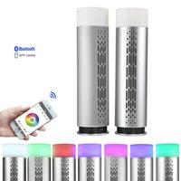 ipads - Wireless Bluetooth Speaker with Enhanced Bass Smart Night Light Hands free for iPhone S S Plus Samsung iPads Smartphones