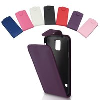 Wholesale CHEAP CHINA MANUFACTURER MOBILE CELL PHONE ACCESSORIES BLACK CELL PHONE FLIP POUCH PU LEATHER CASE FOR SAMSUNG GALAXY S5 G900