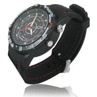 Wholesale HOT Waterproof Spy Watch HD Camera GB GB x mini dv Retail Box PC