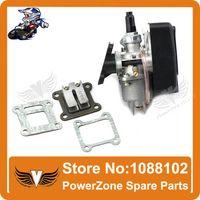 Wholesale Mini Moto ATV Quad Dirt Pit Pocket Bike cc cc Two Stroke Carburetor Air Filter Mainfold Reed Valve parts