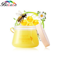Wholesale paraffin bath for hands and feet Honey Paraffin Wax exfoliating foot mask Hand Cream Hand foot Wax foot peerling