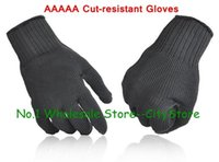 Wholesale 500parirs authentic AAAAA thickening puncture proof gloves Wear resisting tactical wire gloves Upgrade of reinforced