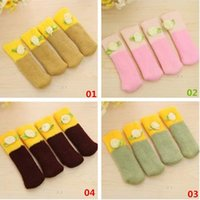 Wholesale New Arrivals Set Table Chair Foot Cover Socks Leg Sleeve Woolen Home Textiles Size CM JH46